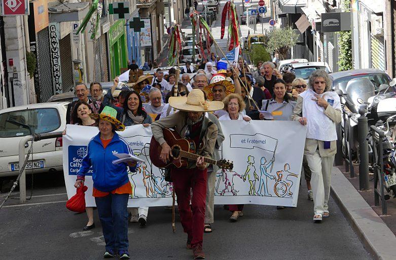 Fête de la miséricorde à Marseille (22 mai 2016)